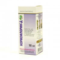 Нормофлорин Д, 100 мл