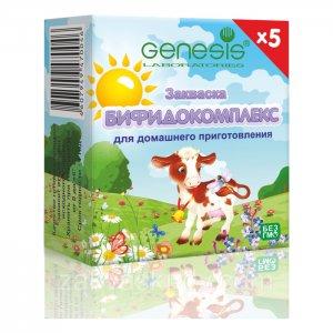 Закваска БИФИДОКОМПЛЕКС (упаковка - 5 пакетиков)