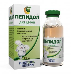 Пепидол, флакон 3%, 100 мл для детей